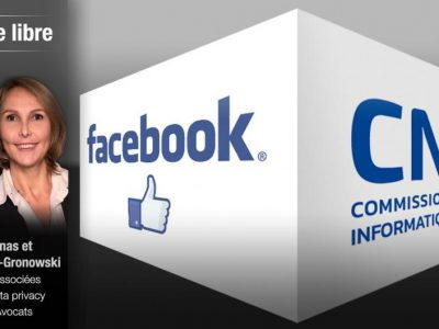 La loi française «Informatique et Libertés» (CNIL) s'applique à Facebook !