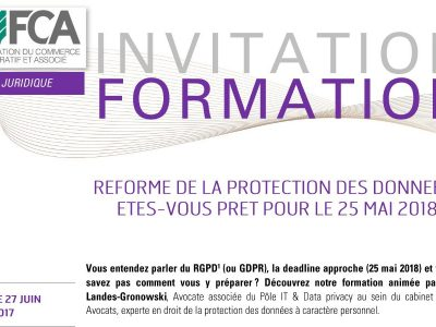 Réforme de la protection des données : êtes-vous prêt pour le 25 mai 2018 ?